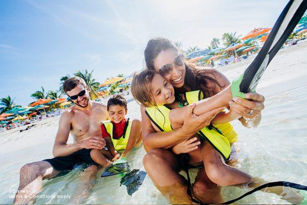 Disney Cruise Castaway Cay Family