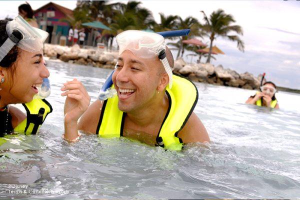 Disney Cruise Castaway Cay Snorkelling
