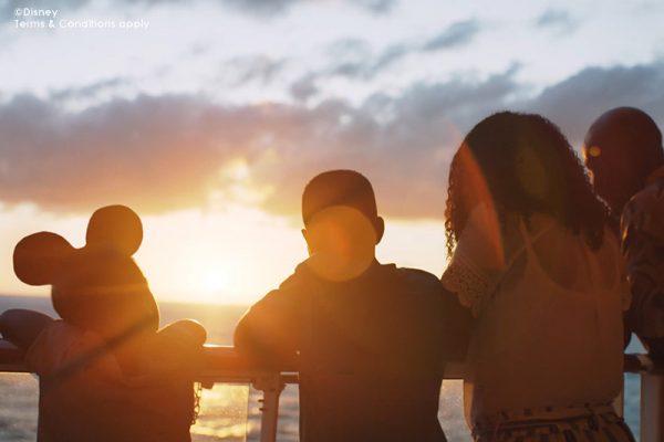 Disney Cruise and Disney Family on Deck