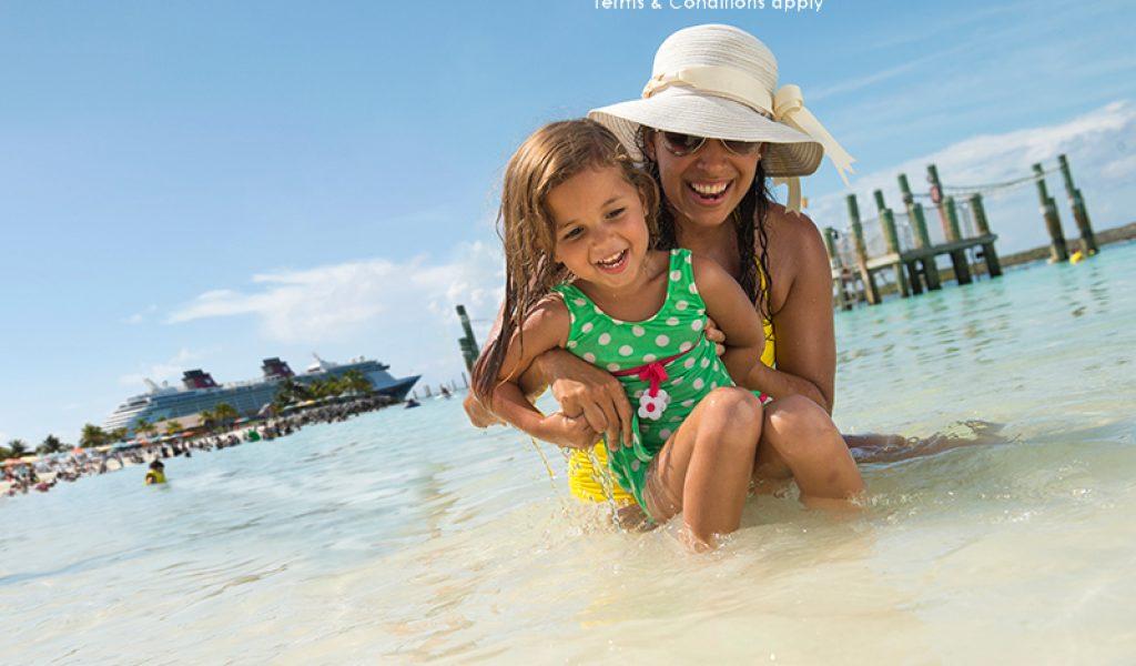 Disney Cruise and Disney Mum Daughter Castaway Cay 2