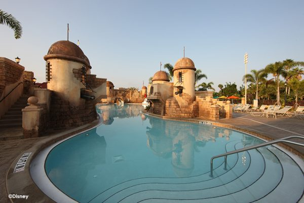 Disneys Caribbean Beach Resort Pool