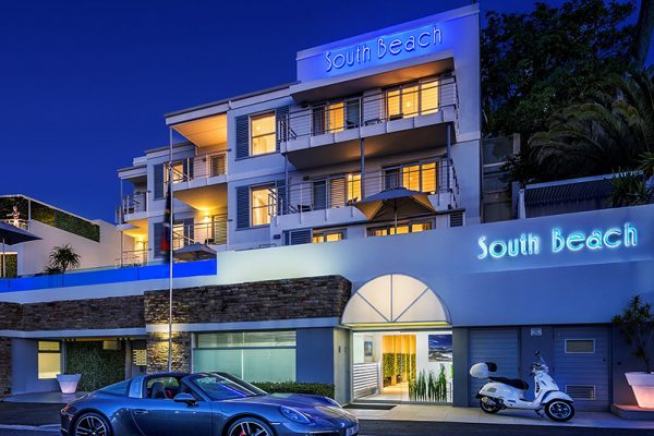 South Beach Camps Bay Boutique Hotel Cape Town Exterior